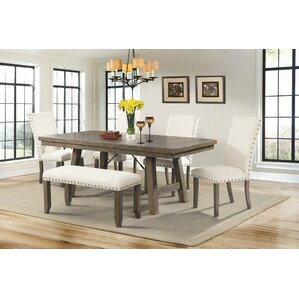 dining room set with bench. Dearing 6 Piece Dining Set Bench Kitchen  Room Sets You ll Love Wayfair