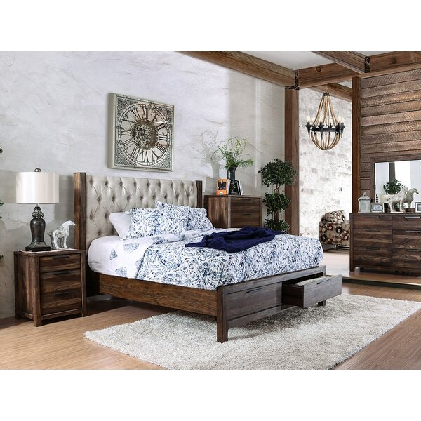 Geismar Upholstered Storage Platform Bed by Gracie Oaks
