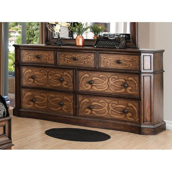 Barrington Transitional 7 Drawer Dresser by Fleur De Lis Living