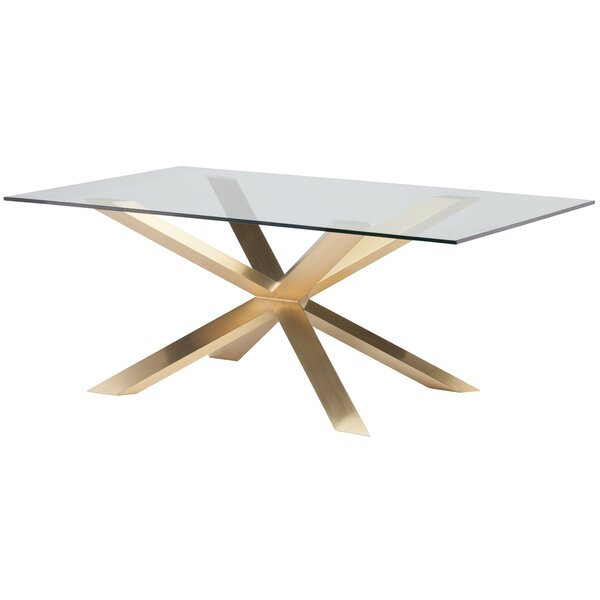 Boler Modern Dining Table by Orren Ellis Orren Ellis