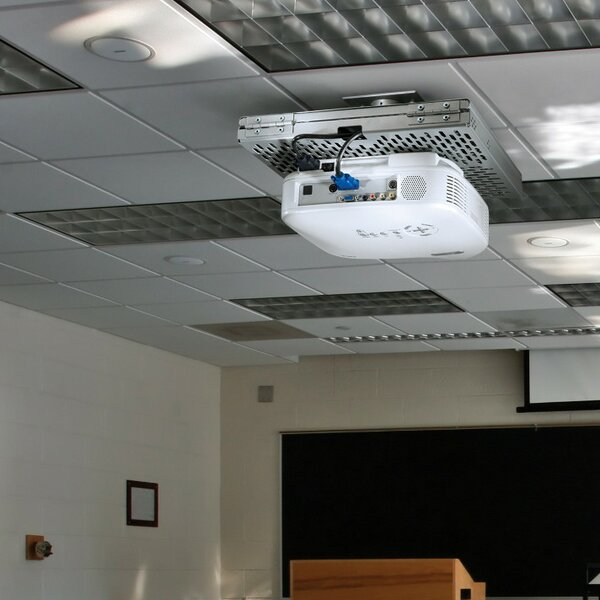 Universal Tray Style Projector Security Ceiling Mount by Peerless-AV