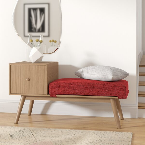 Lynnfield Wood Storage Bench by George Oliver