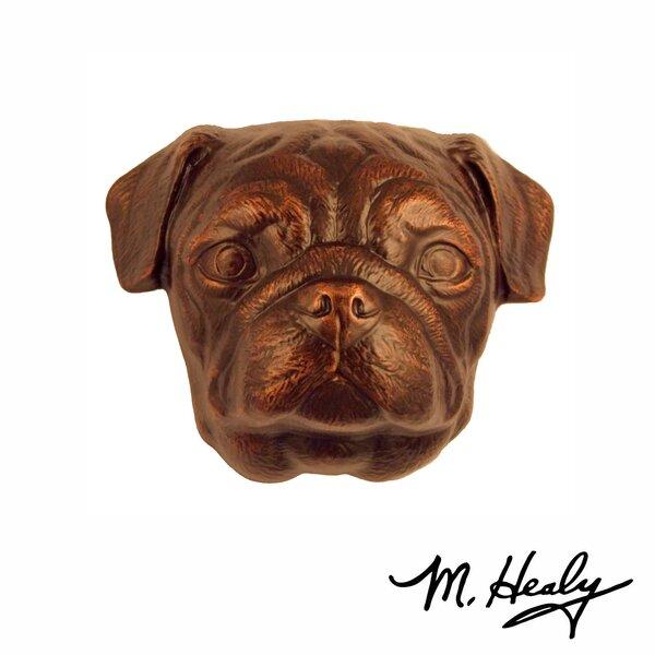 Pug Door Knocker by Michael Healy Designs