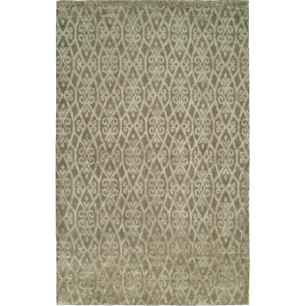 Hand-Woven Beige Area Rug by Wildon Home ®