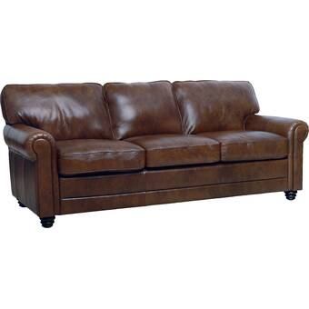 Lambdin Genuine Leather 88 Round Arm
