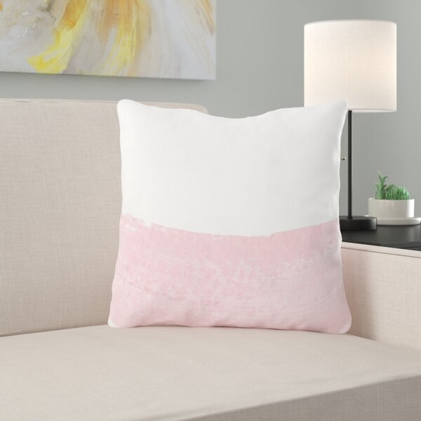 Wenner Hand Painted Throw Pillow
