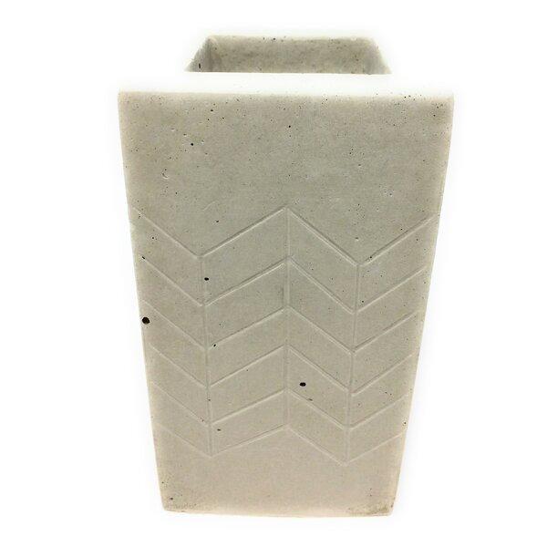 Haslett Concrete Pot Planter by Bungalow Rose