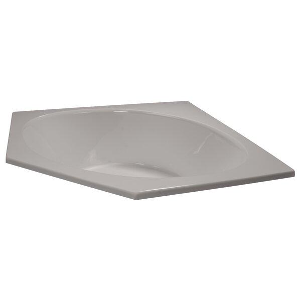 60 x 60 Soaker Corner Bathtub by American Acrylic