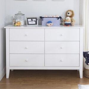 Morgan 6 Drawer Double Dresser