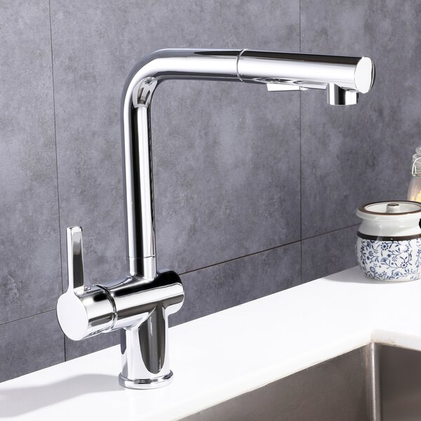 Pull Out Single Handle Kitchen Faucet by Topcraft Topcraft