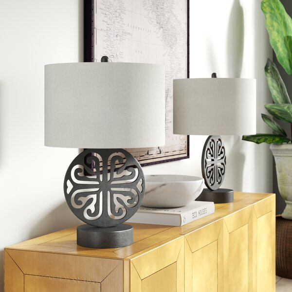 Thorndale Metal 25 Table Lamp (Set of 2) by Greyleigh