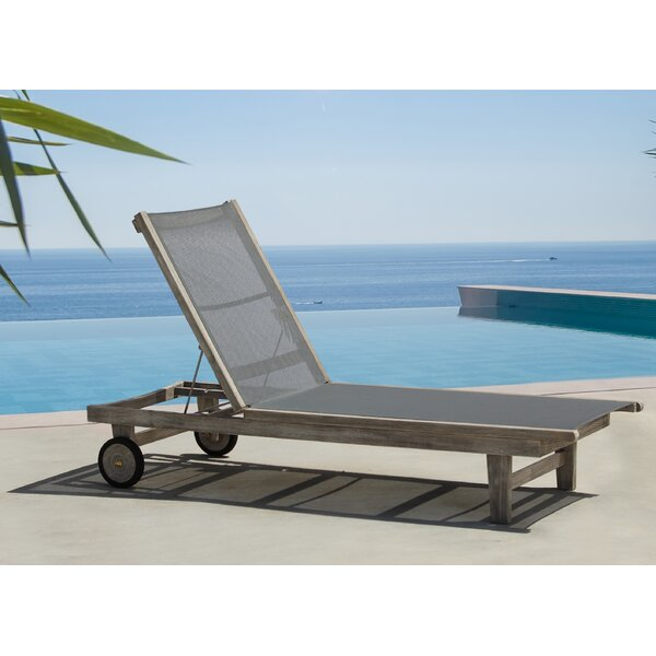 Jolene Teak Patio Chair by Gracie Oaks