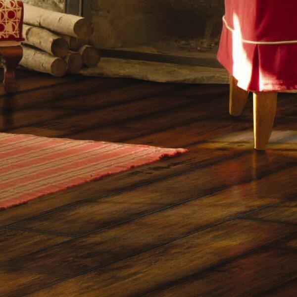 Revolutions 5'' x 51'' x 8mm Maple Laminate Flooring in Golden Nugget by Mannington