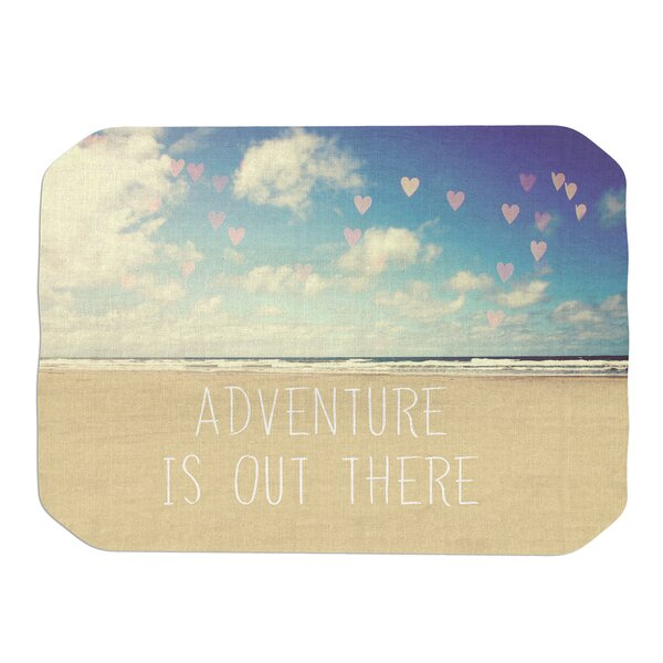 Adventure is Out There Placemat by KESS InHouse