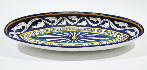 Andalousia Platter by Neapolis Ceramic
