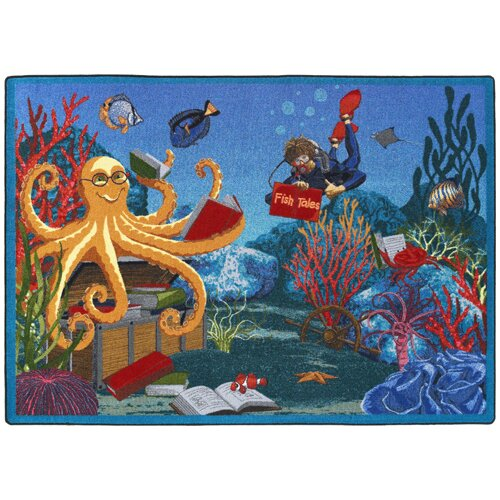 Fish Tales Area Rug by The Conestoga Trading Co.
