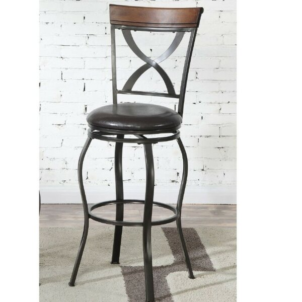 Whitner 29 Swivel Bar Stool (Set of 2) by Millwood Pines