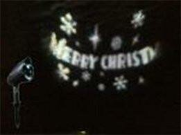 Let it Snow LED Merry Christmas Projector Light by The Holiday Aisle