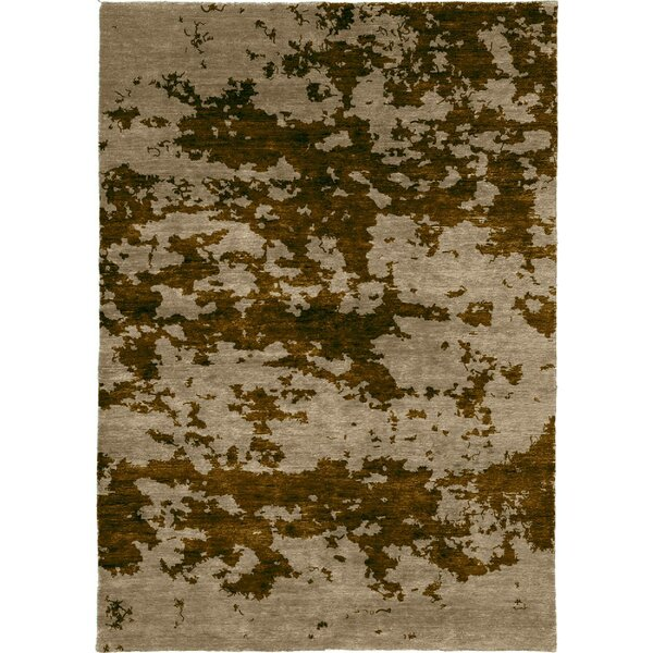 One-of-a-Kind Belby Hand-Knotted Traditional Style Brown 12' x 18' Wool Area Rug