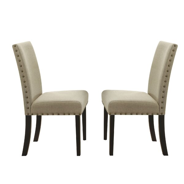 Robledo Upholstered Dining Chair (Set Of 2) By Alcott Hill