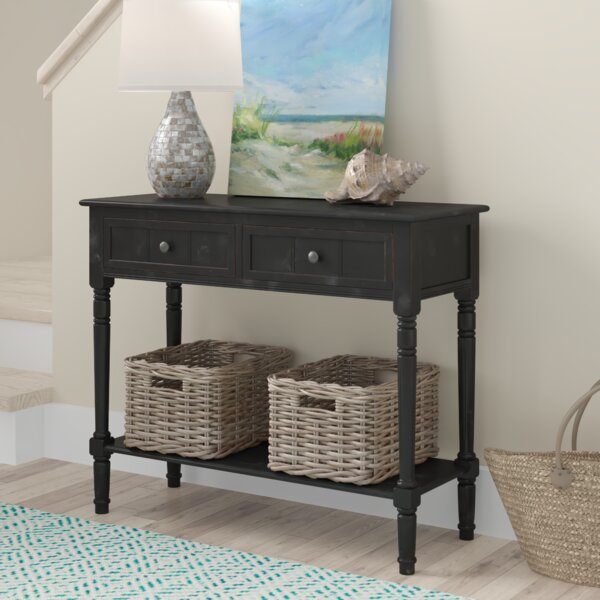 Beachcrest Home Black Console Tables