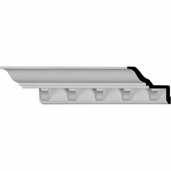 Dentil 3 3/4H x 96 1/8W x 4 1/2D Crown Molding by Ekena Millwork