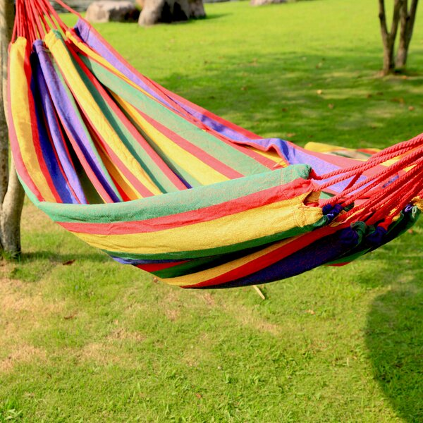 Hanging Suspended Tree Hammock by Adeco Trading