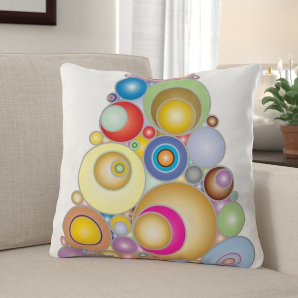 Cainsville Colorful Indoor/Outdoor Canvas Throw Pillow