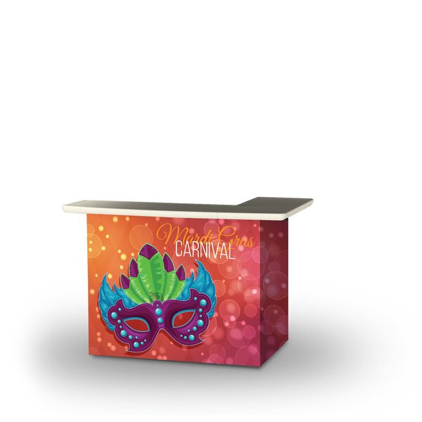 Zolotas Fat Tuesday Mardi Gras Home Bar by East Urban Home East Urban Home
