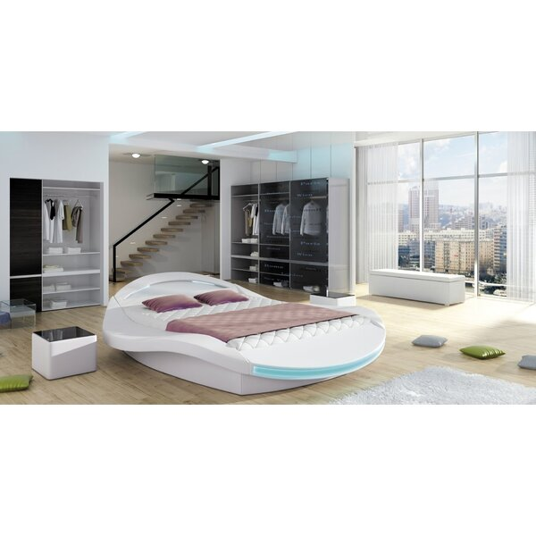 Sarava Upholstered Storage Platform Bed with Mattress by Orren Ellis
