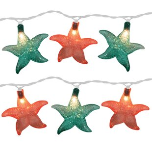 Affordable Starfish 10 Light Novelty String Light By The Holiday Aisle