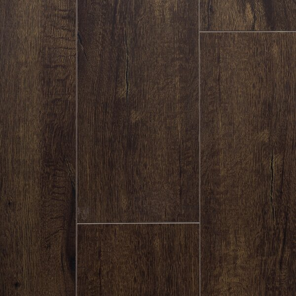 Essence 8 x 48 x 12mm Laminate Flooring in Midnight Black by Dyno Exchange