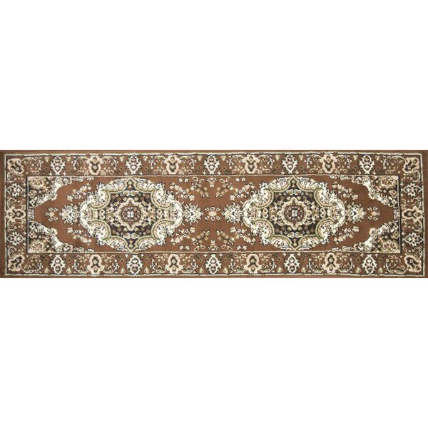 Stevens Oriental Classic Brown/Beige Indoor Area Rug by Astoria Grand