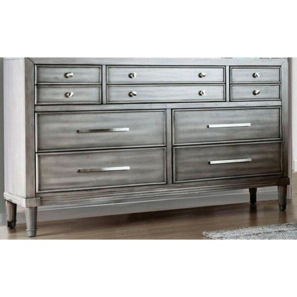 Lohan 8 Drawer Double Dresser by Rosdorf Park
