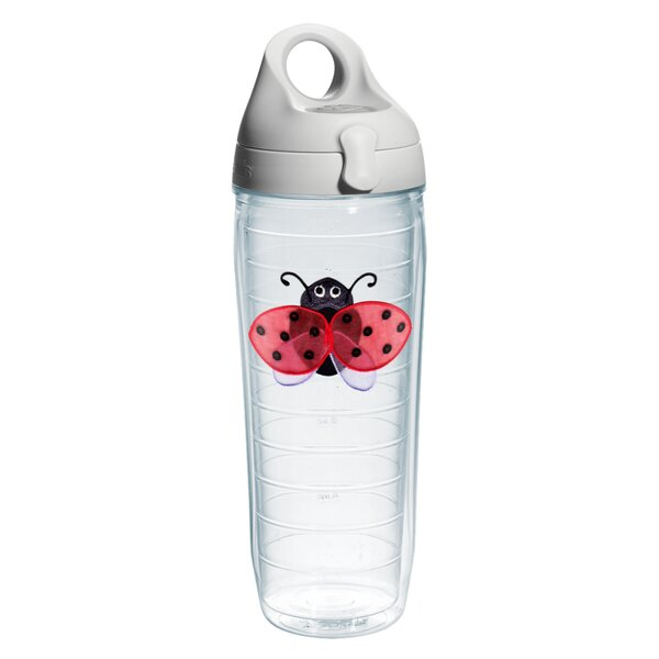 Garden Party Lady Bug Plastic Water Bottle by Tervis Tumbler