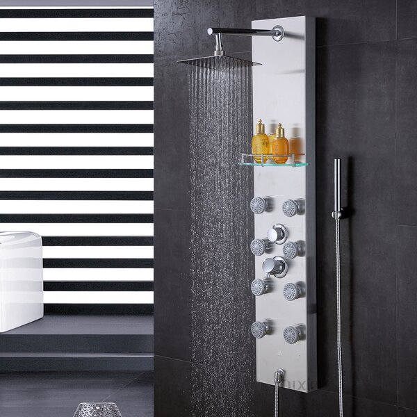 Thermostatic Shower Panel by Luxier
