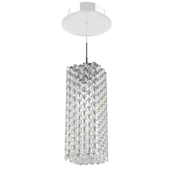 Refrax 1-Light Crystal Pendant by Schonbek