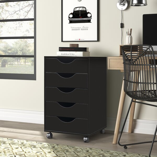 Morganetta 5-Drawer Storage Cabinet