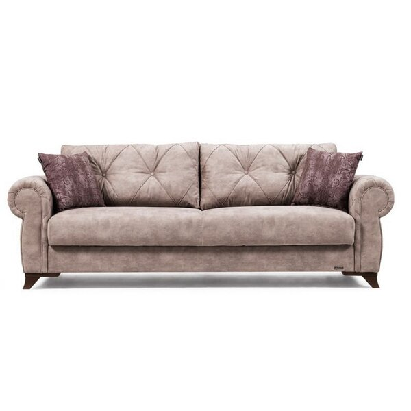 Review Meghrig 95'' Rolled Arm Sofa