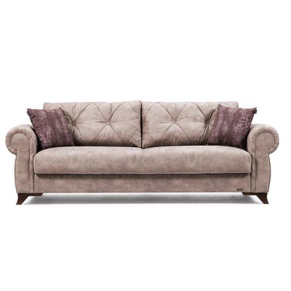 Free S&H Meghrig 95'' Rolled Arm Sofa
