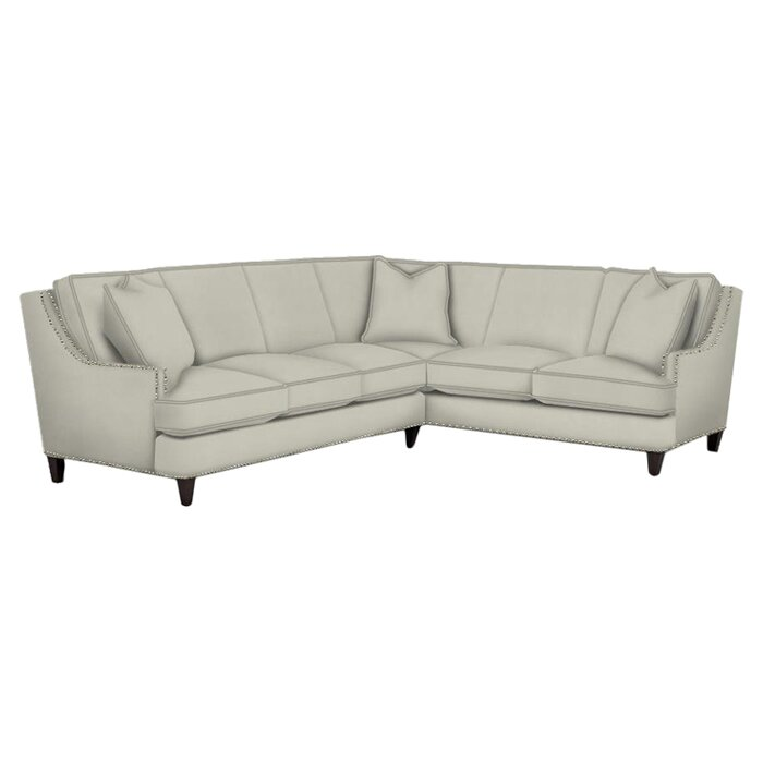 Klaussner Furniture Gretchen Sectional & Reviews