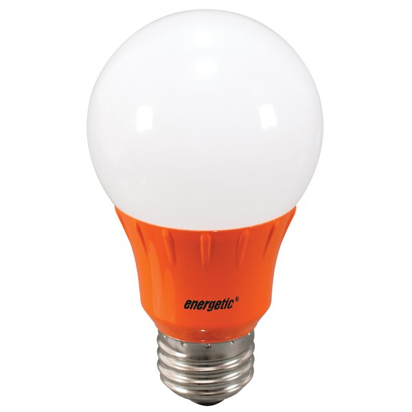 Orange Party Light Bulb by Energetic Lighting