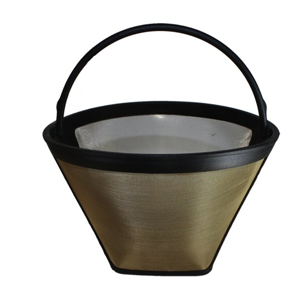 Washable Gold Tone Coffee Filter by Crucial