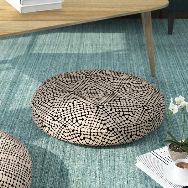 Balam Haxagon Floor Pillow by Wrought Studio