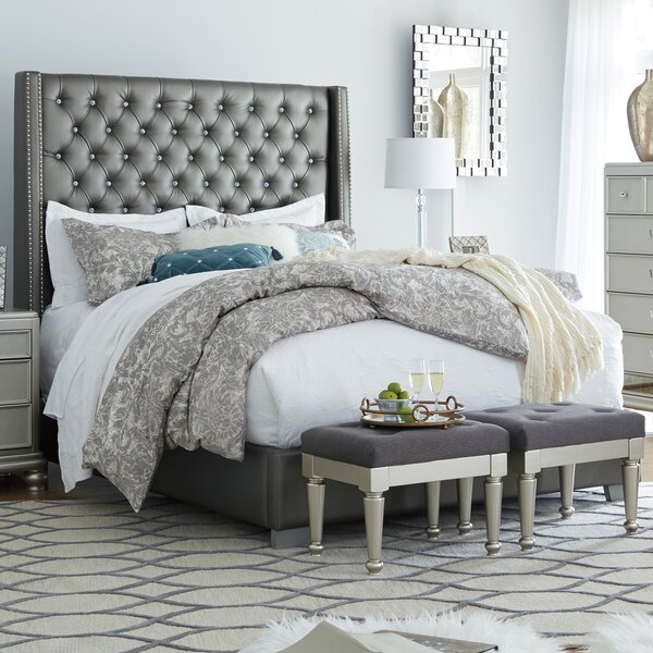 Guillaume Upholstered Standard Bed by Willa Arlo Interiors