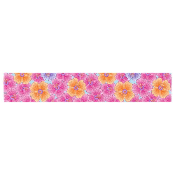 Julia Grifol My Garden Table Runner by East Urban Home