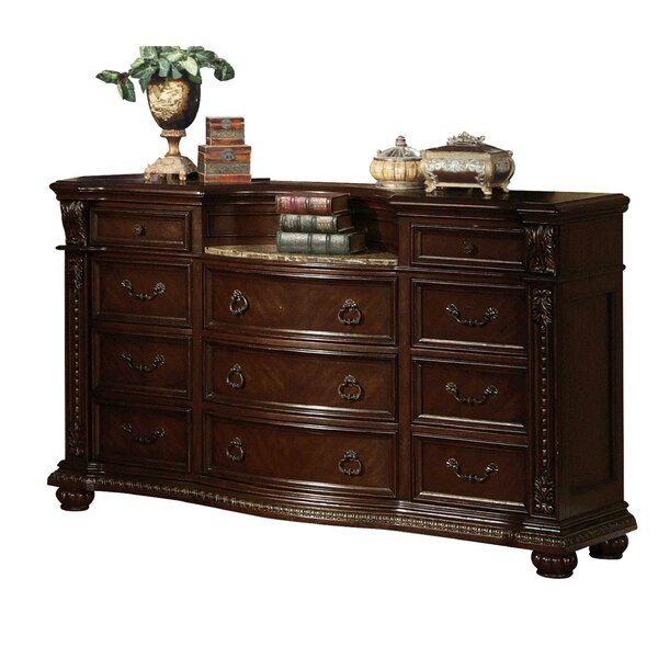 Brooklyn Wooden 11 Drawer Chest by Astoria Grand