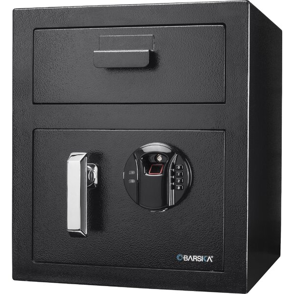 Keypad Depository Safe with Biometric Lock by Barska
