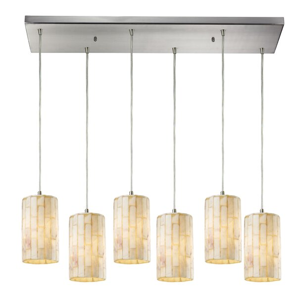 Terre 6-Light Kitchen Island Pendant by Bay Isle Home