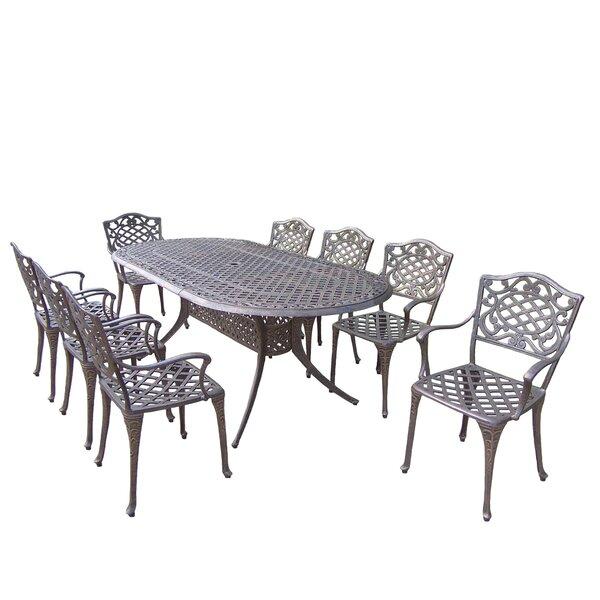 Mcgrady 9 Piece Dining Set by Astoria Grand